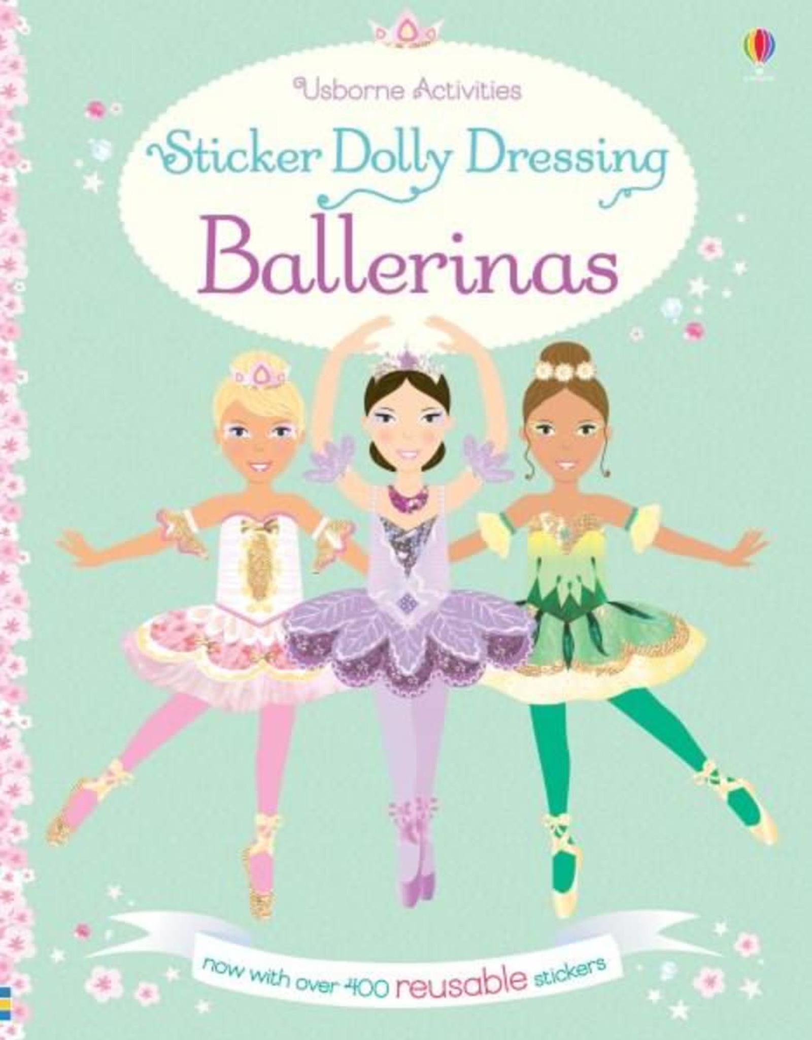 Sticker Dolly Dressing Ballerinas
