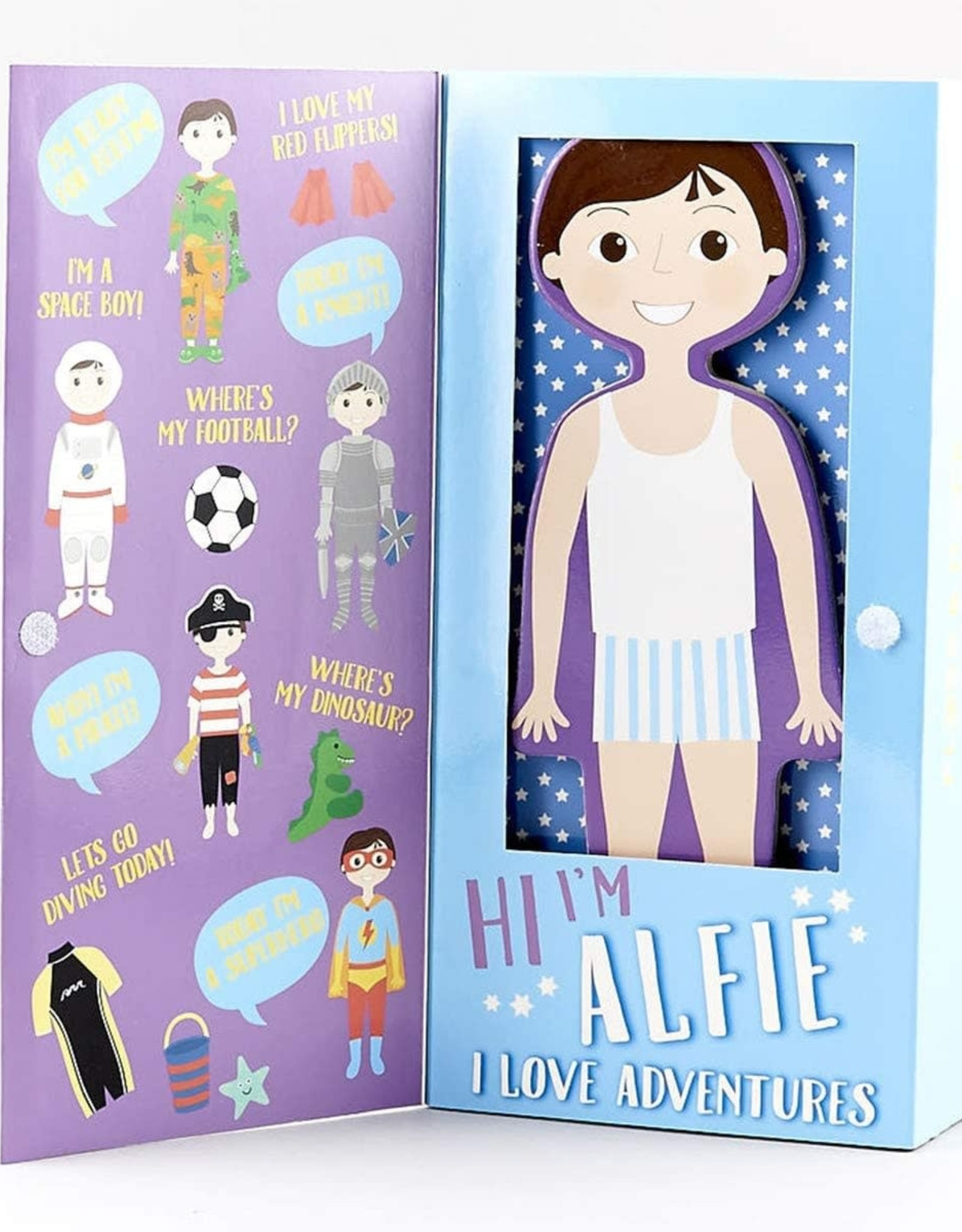 Floss & Rock Magnetic Dress Up Alfie
