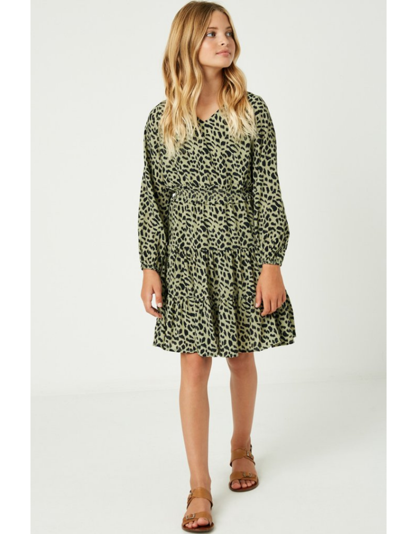 Hayden Smocked Waist Ruffle Dress