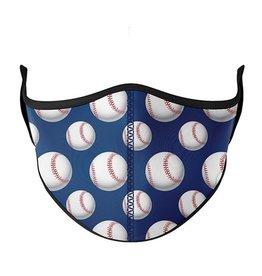 Top Trenz Fashion Face Mask, Large, Baseball