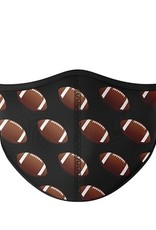 Top Trenz Fashion Face Mask, Large, Football