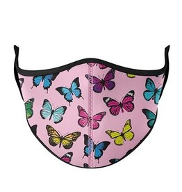 Top Trenz Fashion Face Mask, Large, Butterfly