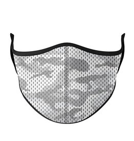 Top Trenz Fashion Face Mask, Large,  Textured Camo