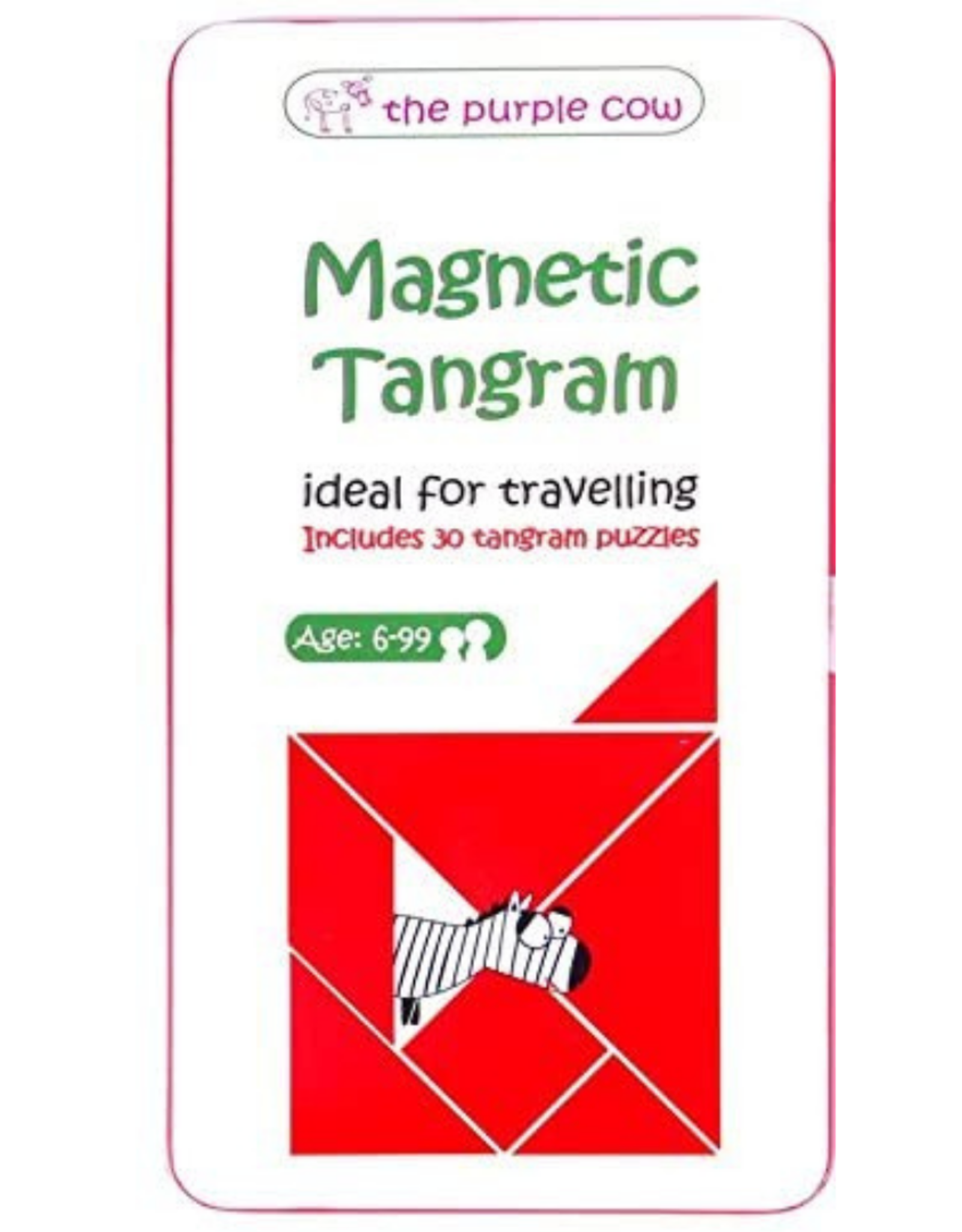 The Purple Cow To Go Tangram