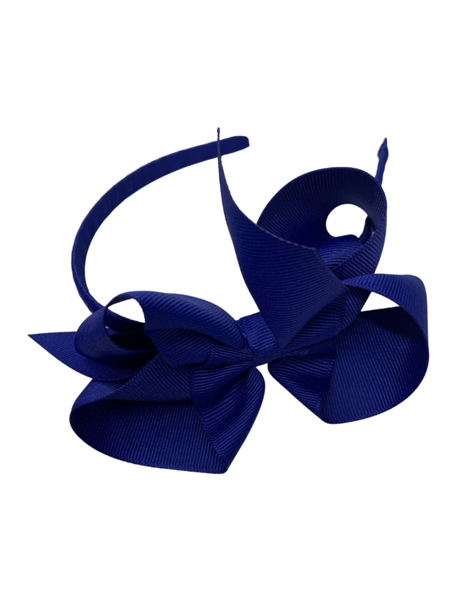 Bows Arts Big Classic Bow Headband - Royal