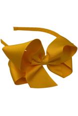 Bows Arts Big Classic Bow Headband - Tangerine