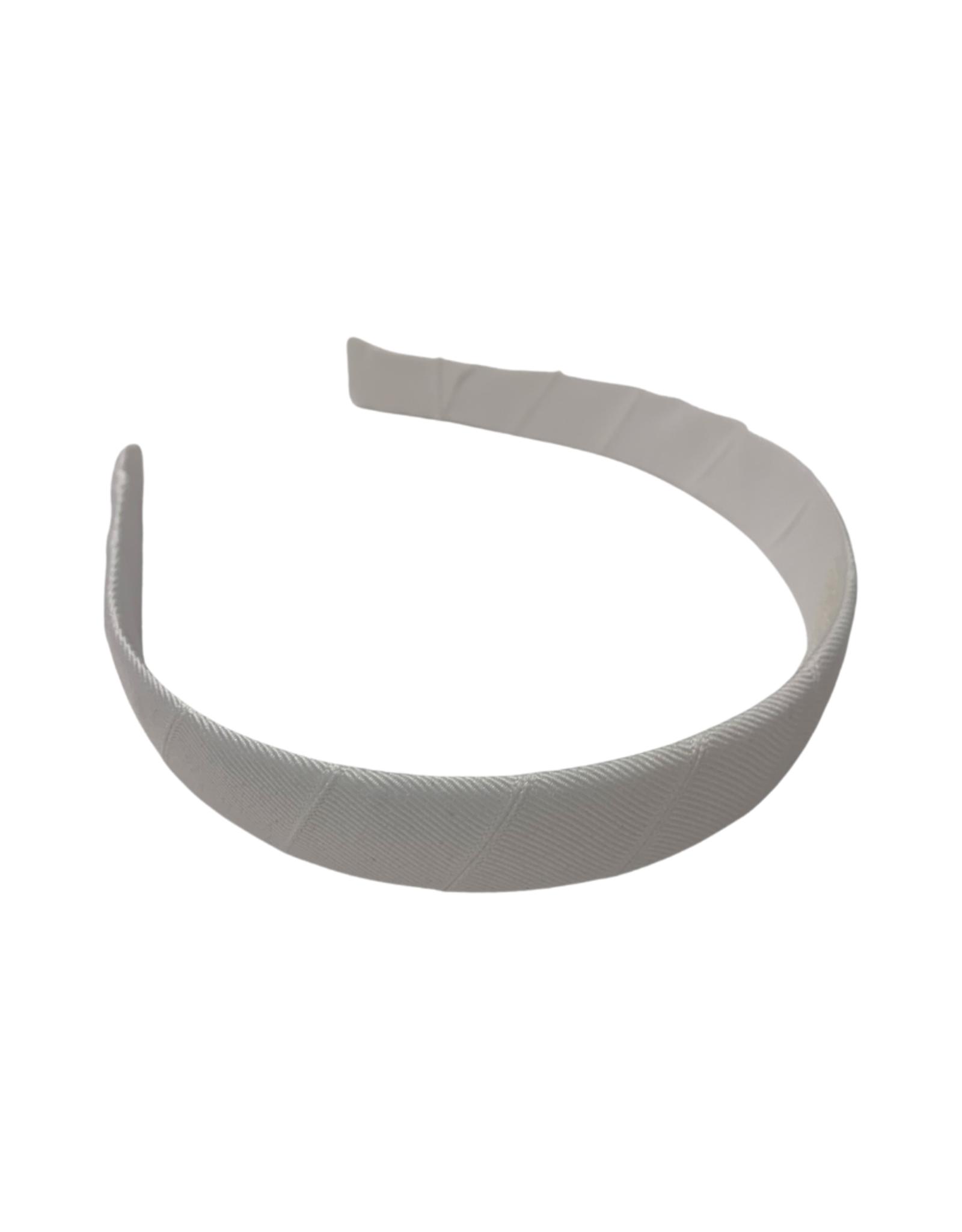 """Bows Arts Headband 1"""" - White"""