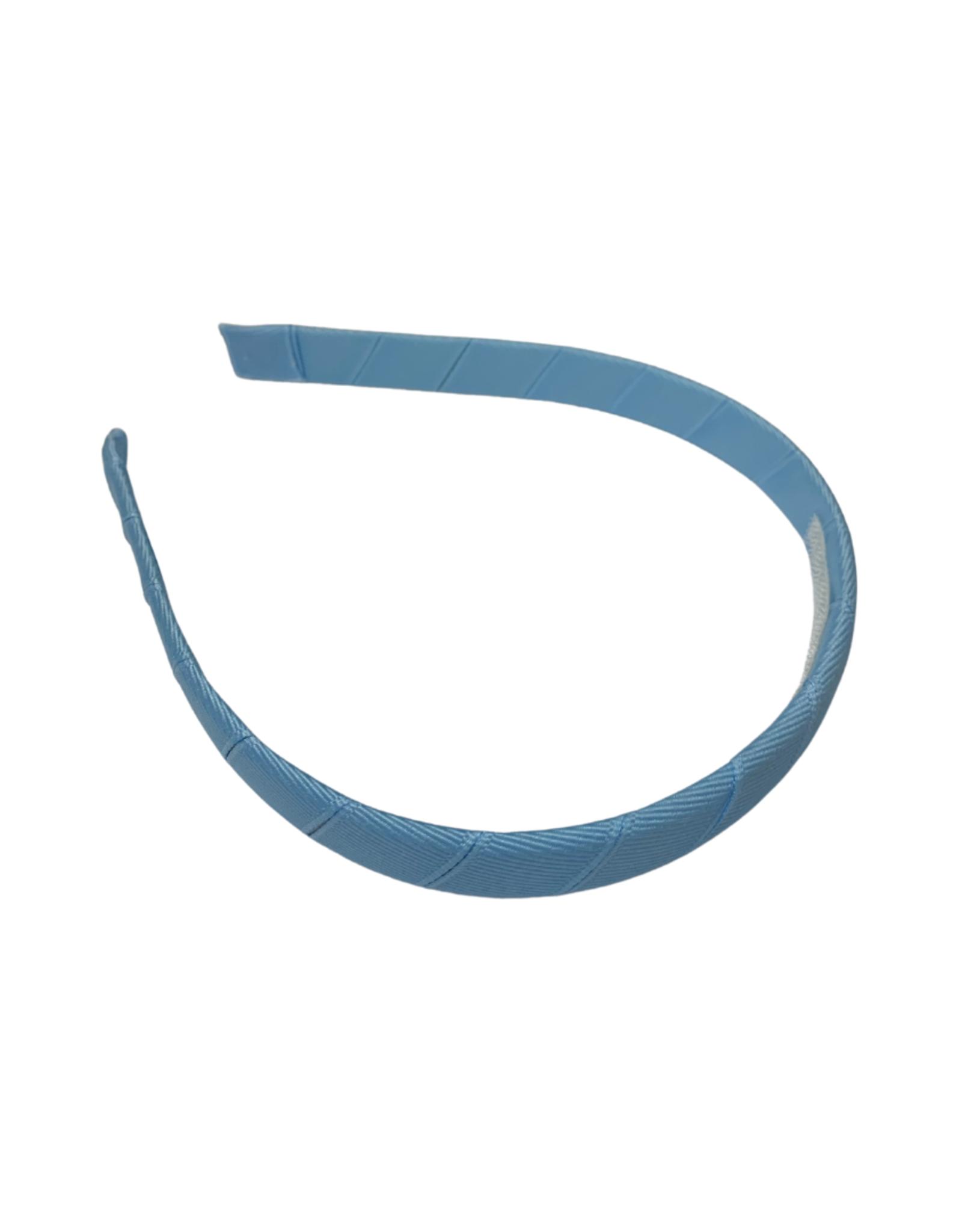 "Bows Arts Headband 1/2"" - Light Blue"