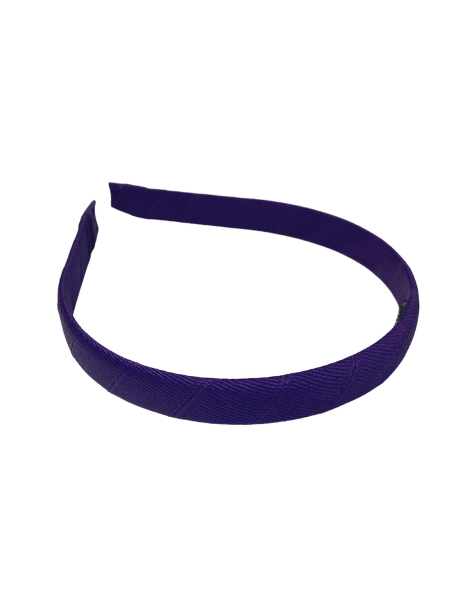"Bows Arts Headband 1/2"" - Regal Purple"