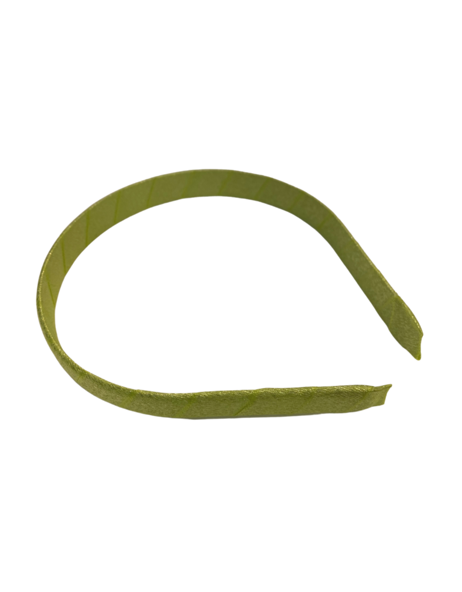 Bows Arts Diamond Dust Satin Headband - Chartreuse