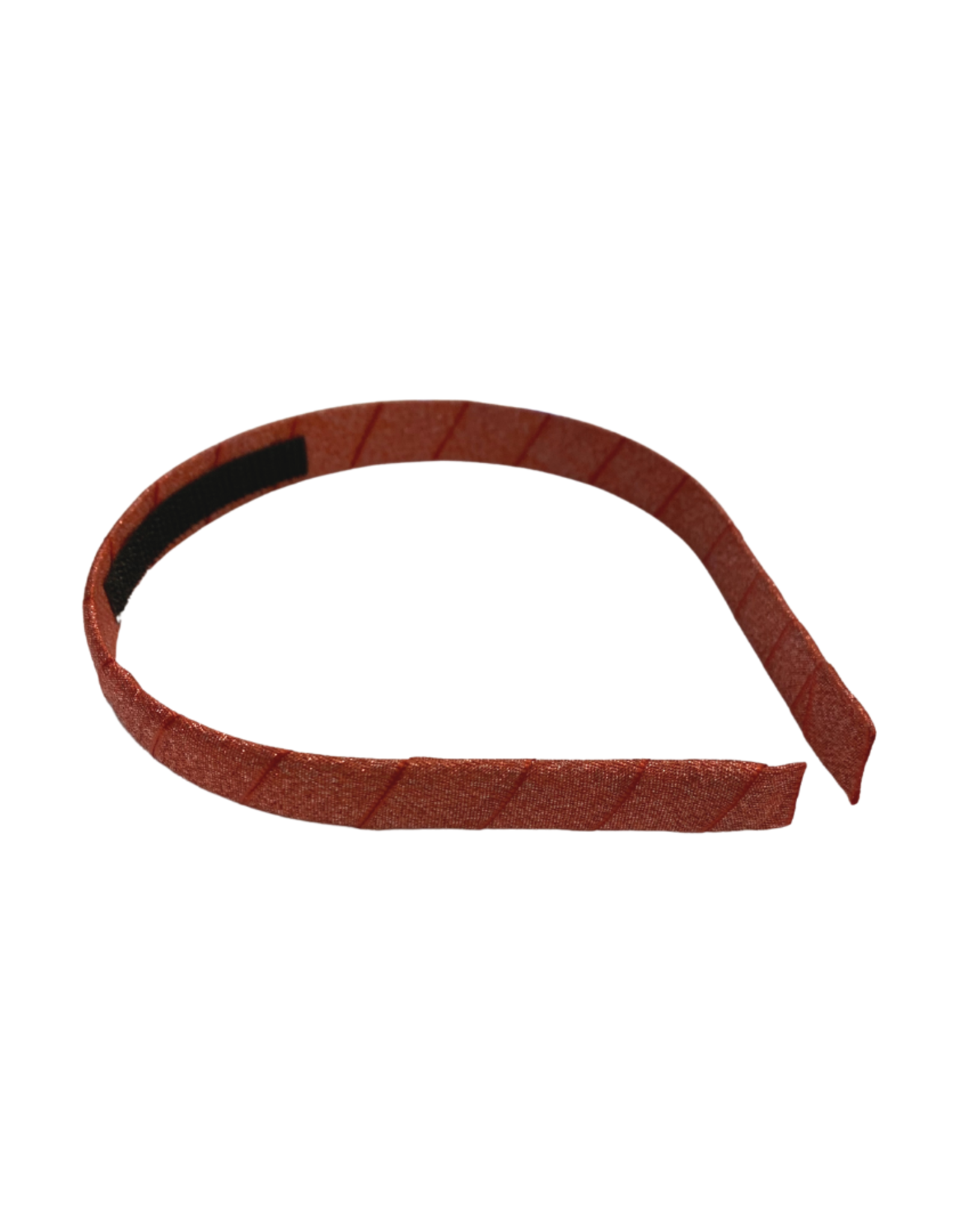 Bows Arts Diamond Dust Satin Headband - Red