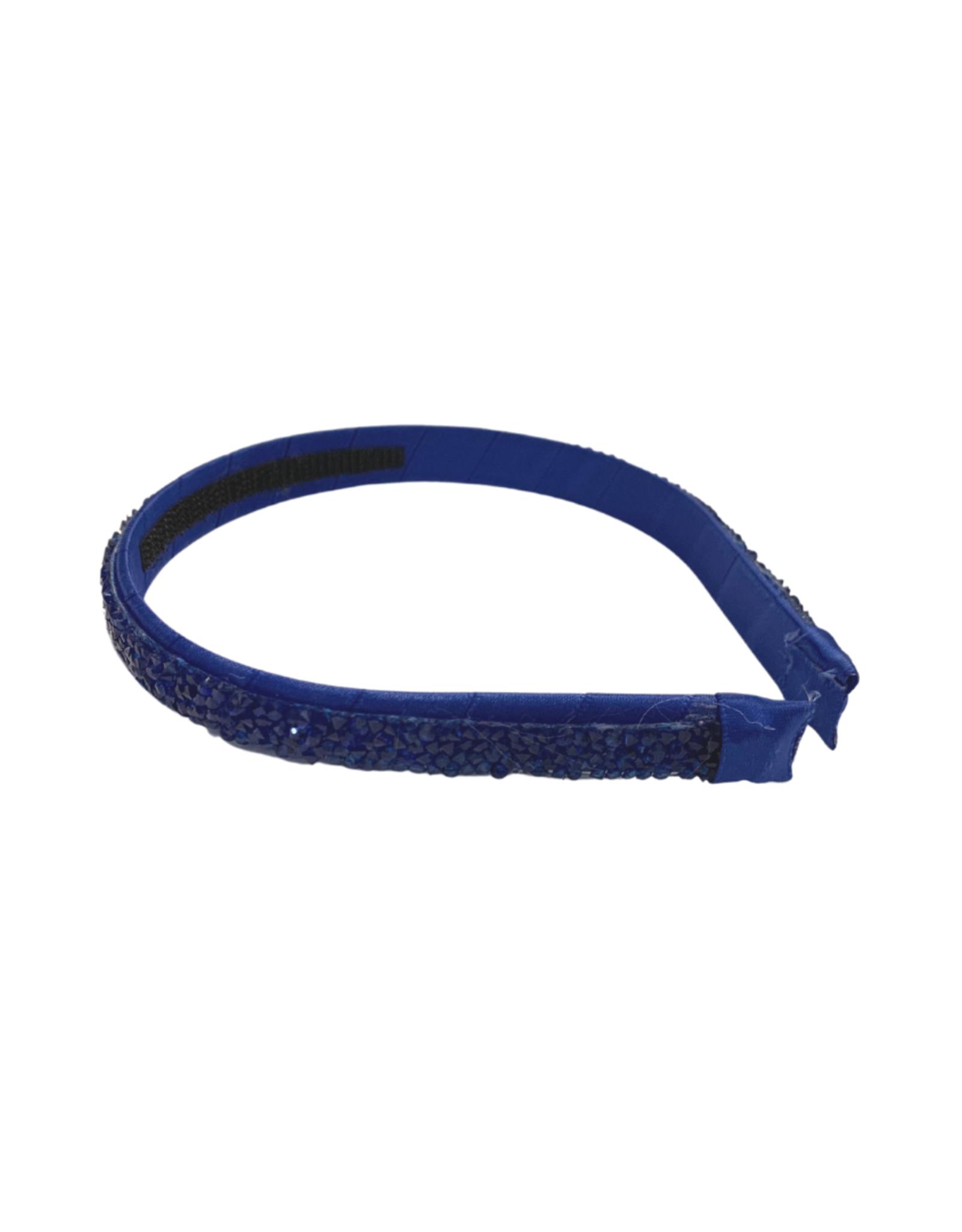 Bows Arts Druzy Quartz Headband - Royal