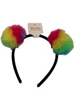 Hatley Prismatic Pom Poms Headband multi rainbow OS