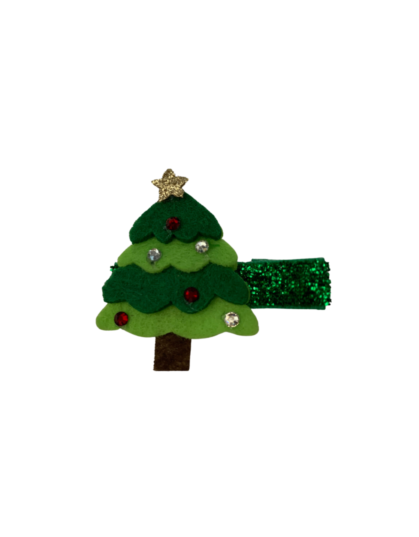 Bows Arts Christmas Popper Hair Clip - Tree