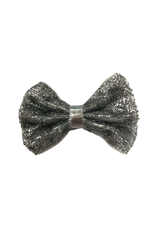 Bows Arts Baby Sparkle Bow Clip - Silver
