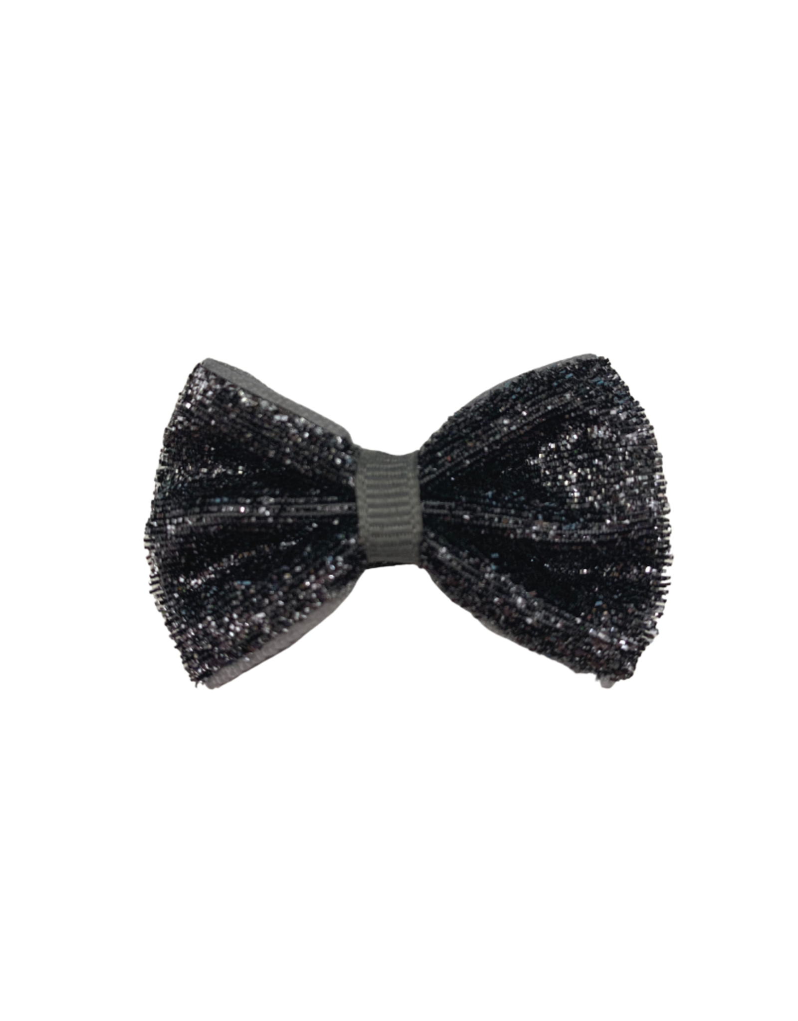 Bows Arts Baby Sparkle Bow Clip - Pewter