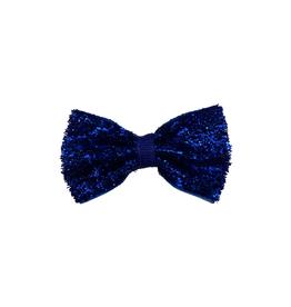 Bows Arts Baby Sparkle Bow Clip - Cobalt