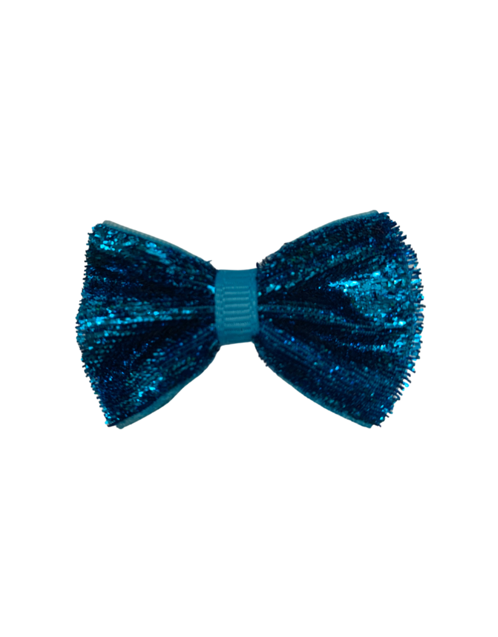 Bows Arts Baby Sparkle Bow Clip - Teal