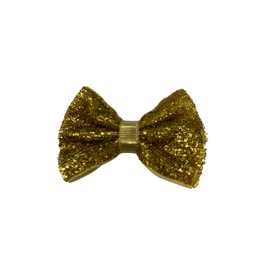 Bows Arts Baby Sparkle Bow Clip - Gold