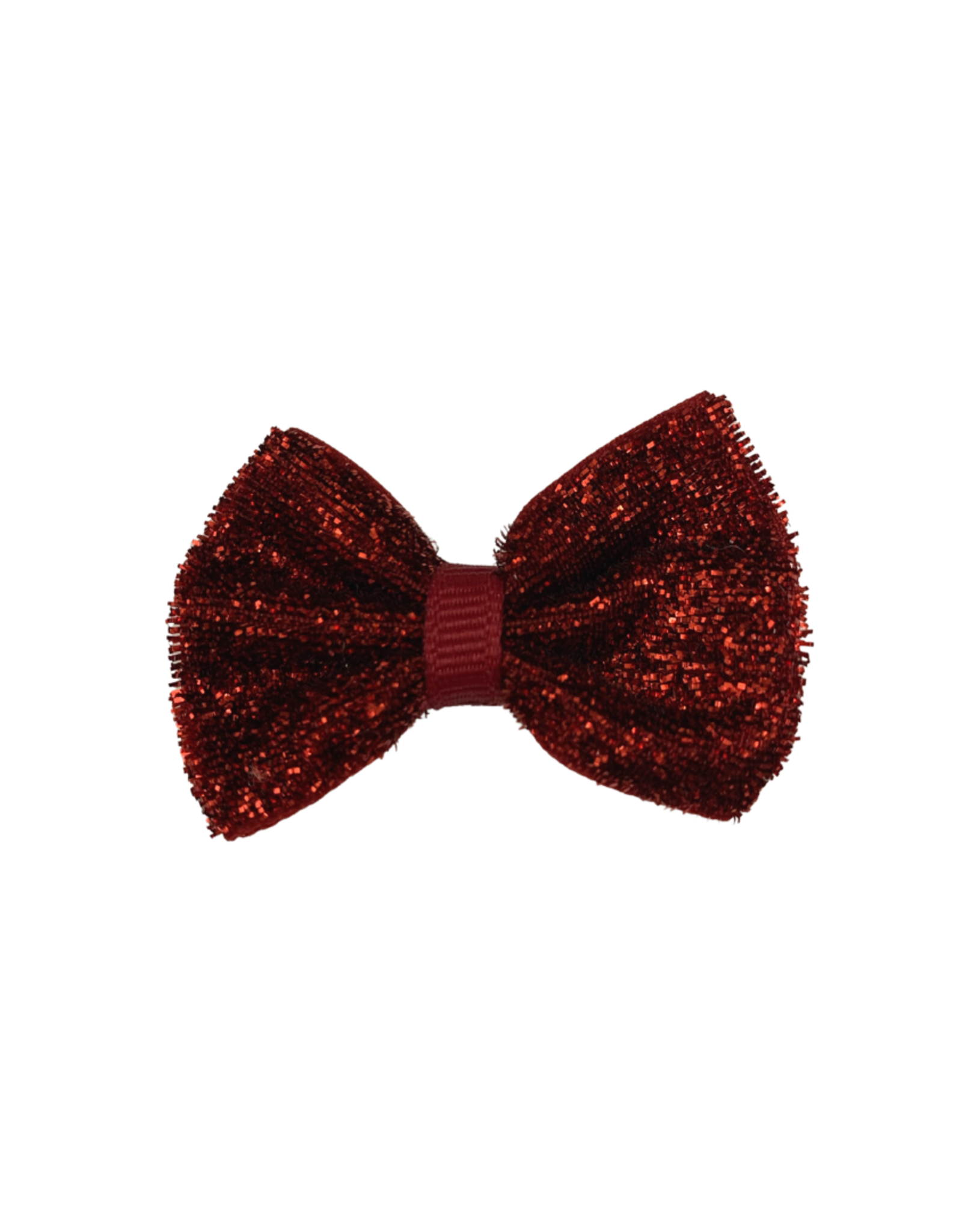 Bows Arts Baby Sparkle Bow Clip - Red