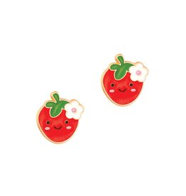 Girl Nation Berry Cute Stud Earrings