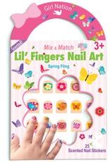 Girl Nation Girl Nation Lil' Fingers Nail Art, Spring Fling