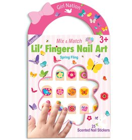 Girl Nation Girl Nation Lil' Fingers Nail Art, Spring Fling