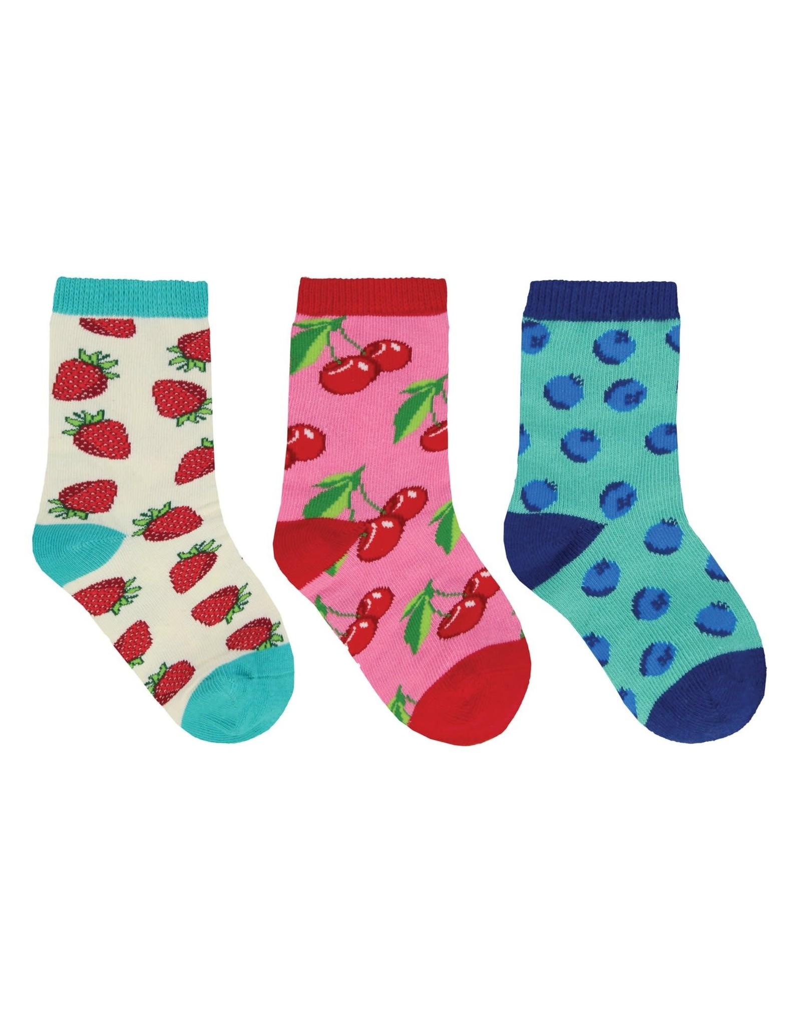 Socksmith Mini Berry Baby Socks, 3 Pack