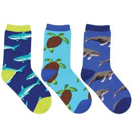Socksmith Little Swimmers Baby Socks, 3 Pack