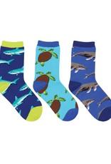 Socksmith Little Swimmers Socks, 3 Pack
