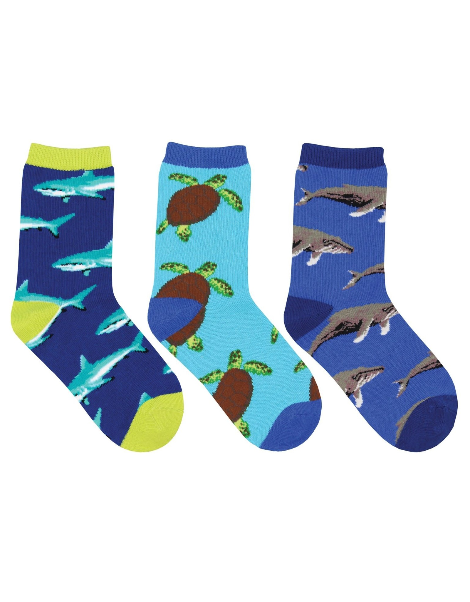 Socksmith Little Swimmers Socks, 3 Pack