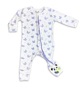 Bellabu Bear Bellabu Bear Butterfly Bamboo Convertible Footie