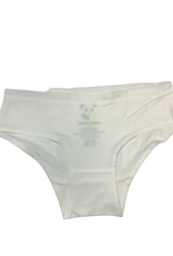 Bellabu Bear Bellabu Bear Girl's Bamboo Underwear - White