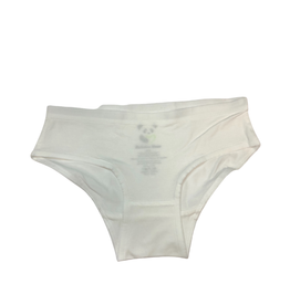 Bellabu Bear Girl's Bamboo Underwear - White