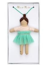Meri Meri Doll Necklace Lila, Brown Hair