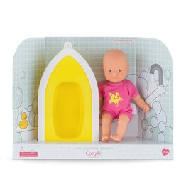 Corolle Mini Bath By The Sea, pink