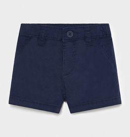 Mayoral Twill Shorts, Navy