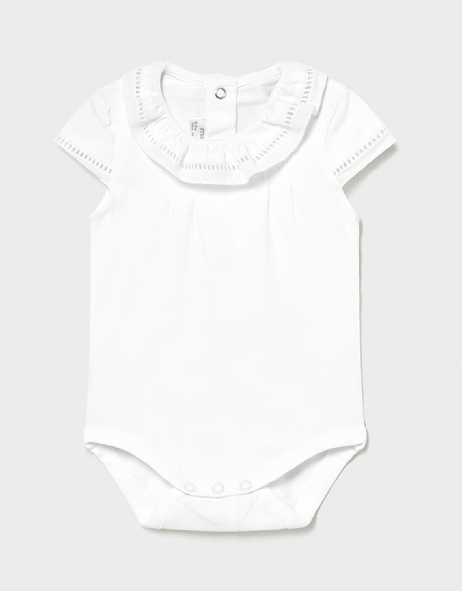 Mayoral Bodysuit, White