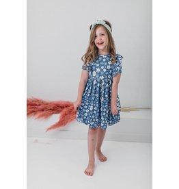 Mila & Rose Just Daisy Ruffle Twirl Dress, Short Sleeve