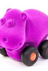 Rubbabu Aniwheelies Micro Animal, Hippo