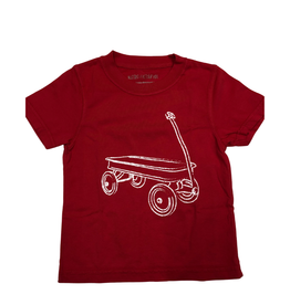 Mustard & Ketchup Kids Red Wagon Tee