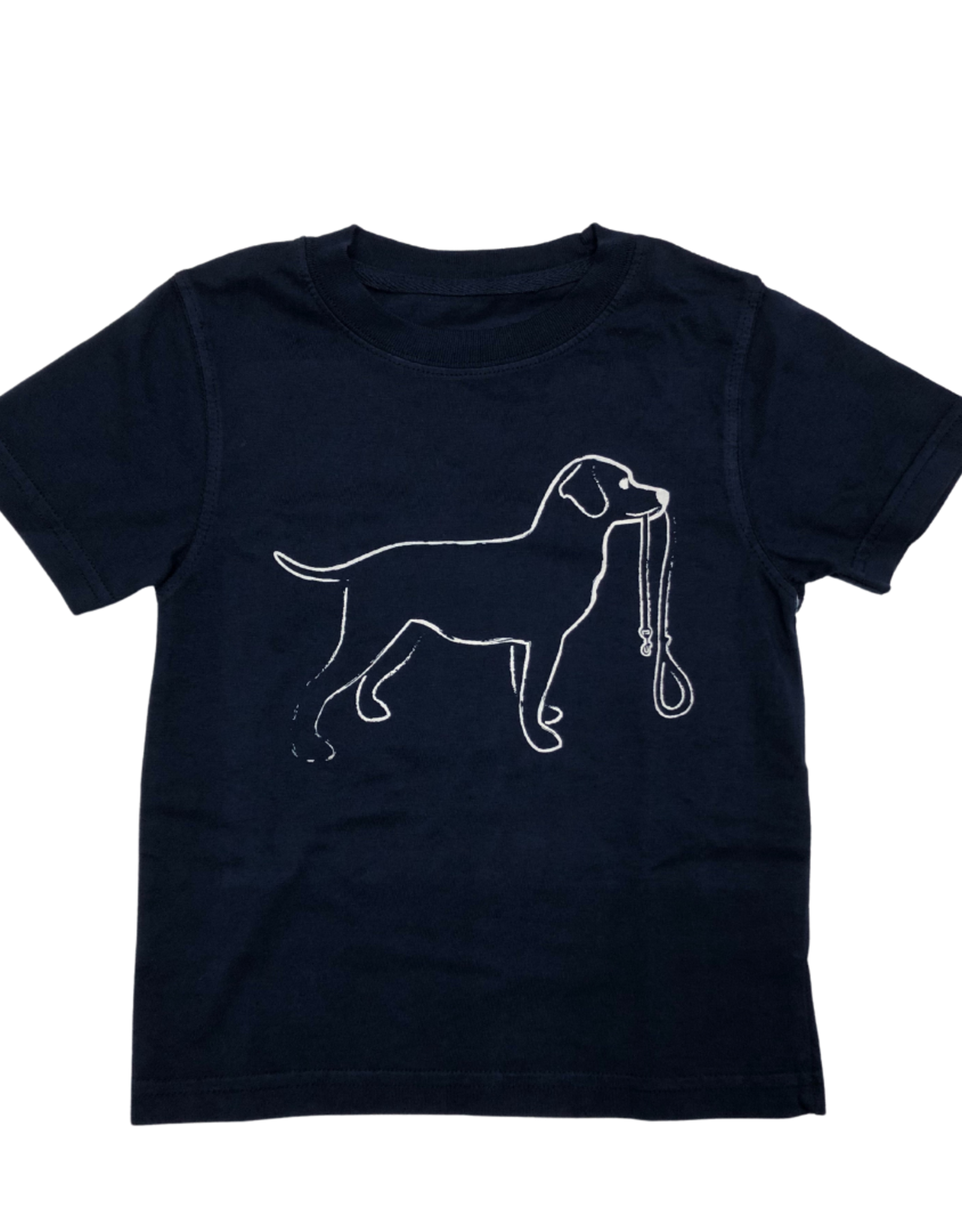 Mustard & Ketchup Kids Dog with Leash Tee