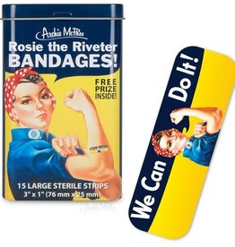 Archie McPhee Bandage Rosie the Riveter