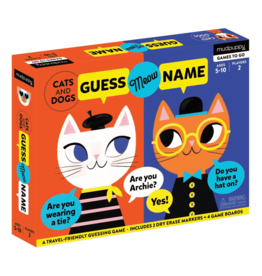 Mudpuppy Cats and Dogs Guess Meow Name Game