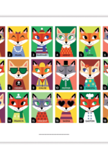 Mudpuppy Owls and Foxes Guess Whooooo?