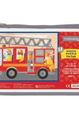 Mudpuppy Pouch Puzzle  Fire Truck