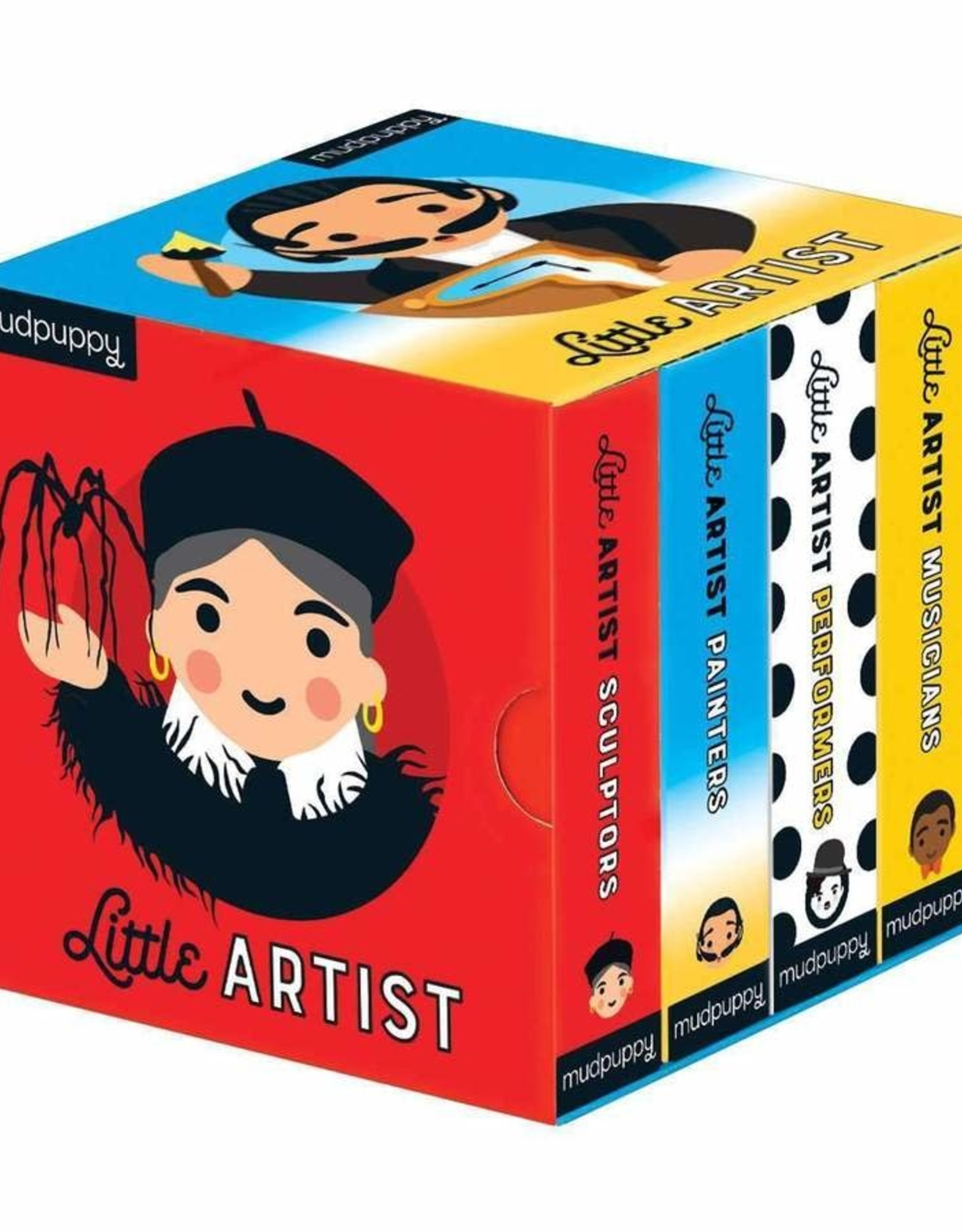 Mudpuppy Little Artist Board Book Set