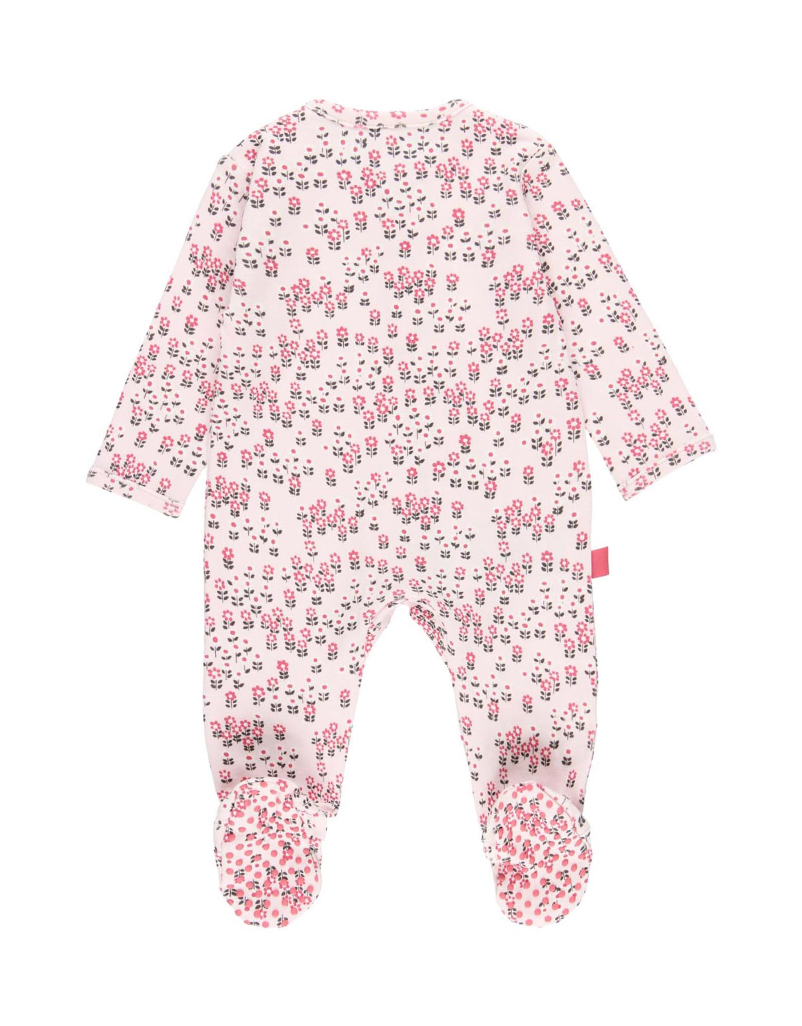 Boboli Floral Zip Footie