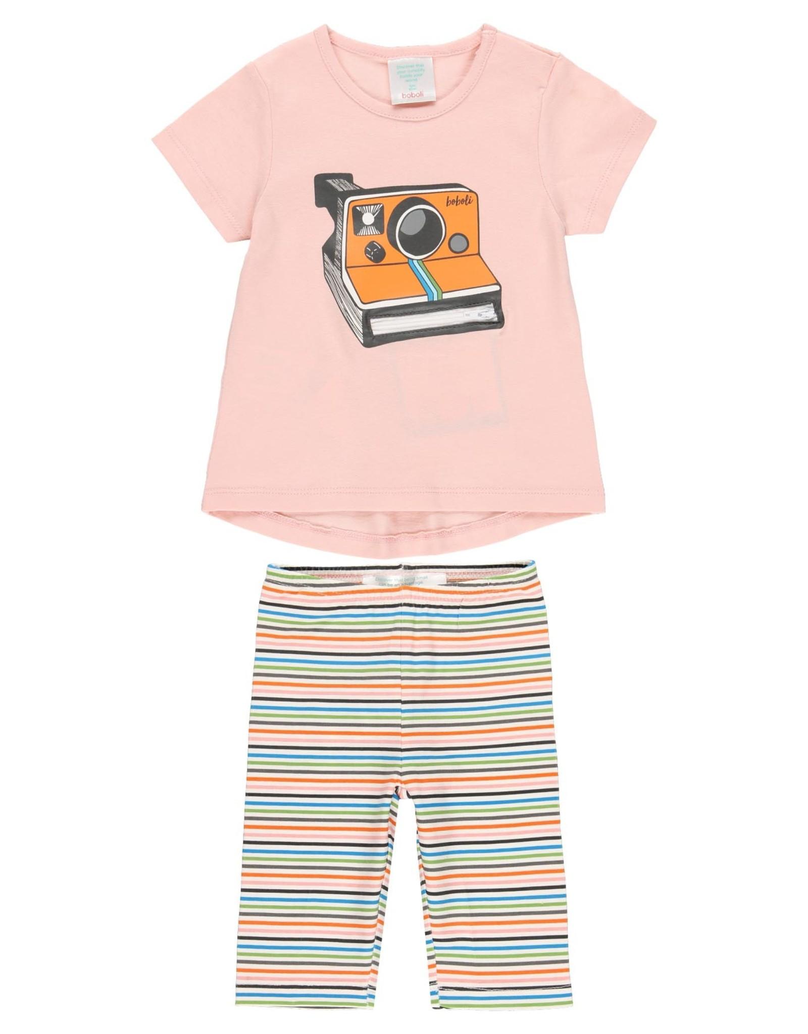 Boboli Shirt and Leggings Set, Camera
