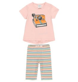 Boboli Shirt and Leggings Set, Camera